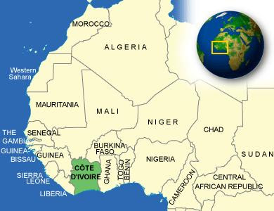 Cote d'Ivoire Violates Diamond, Arms Embargo