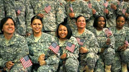 New u s army uniform for female soldiers