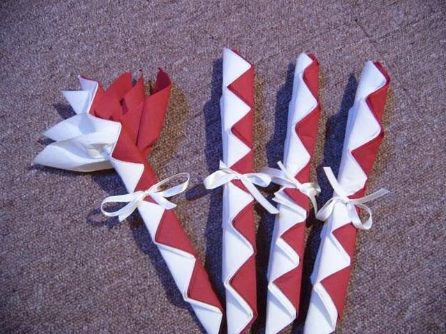 Paso a paso con jeannine como doblar servilletas con estilo - Origami con servilletas ...
