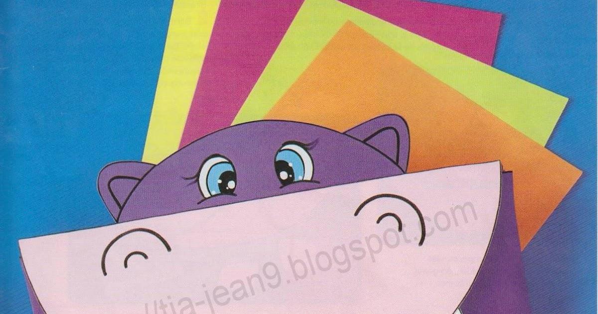 Decoracion Baño Goma Eva:PASO A PASO CON JEANNINE: Carpeta Goma EVA paso a paso (Hipopotamo)