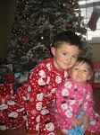 Caden & Madison ~ Christmas 2010