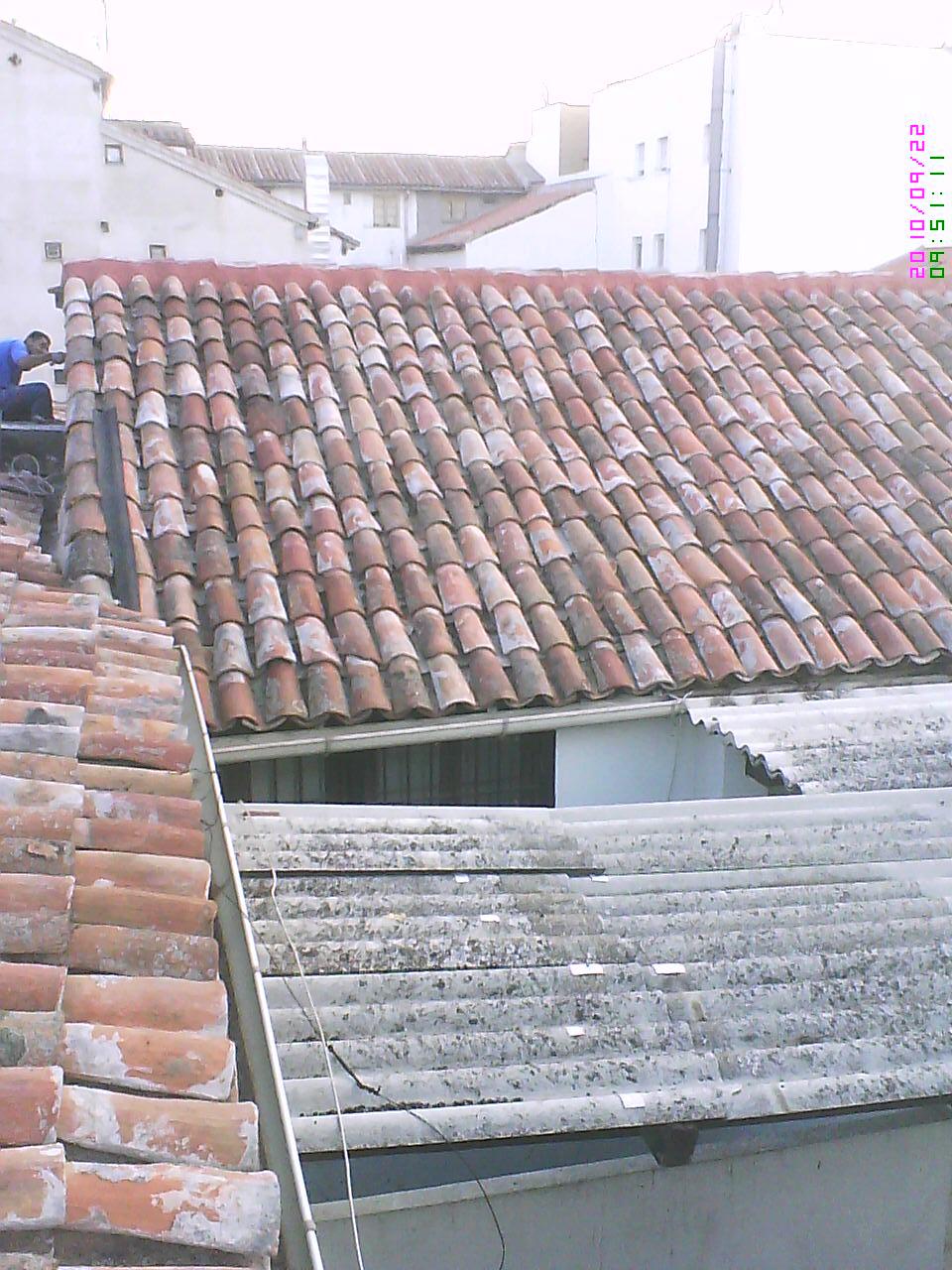 Desmontar tejado antiguo hacer tejado nuevo for Tejados de madera antiguos