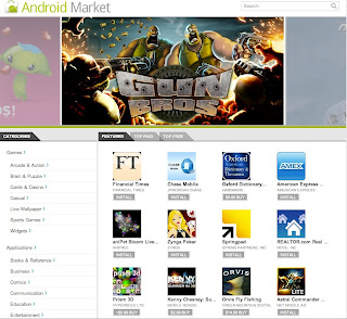 amweb Introducing the Android Market website