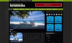harmonika blogger template