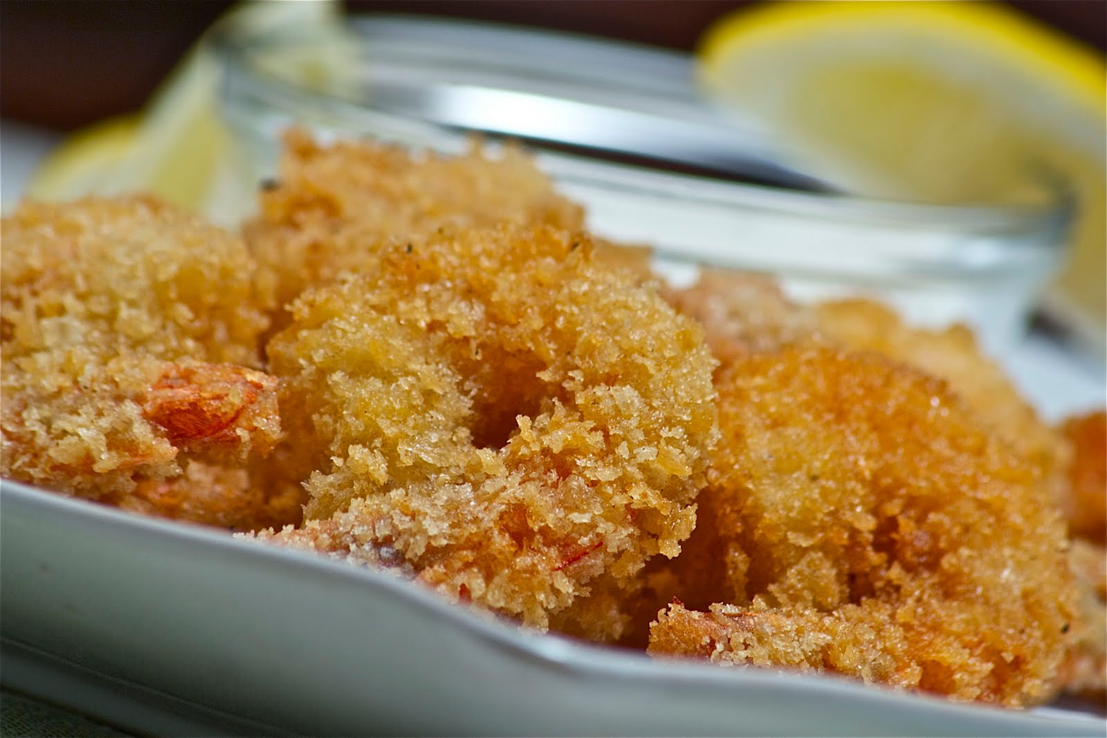 Madeline's Adaptations: Panko Breaded Shrimp with 3 Dipping Sauces
