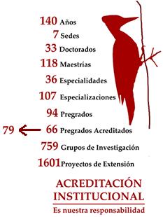 Imagen Actualizada sobre el Verdadero Estado Actual de Acreditación de la Universidad NAcional de Colombia