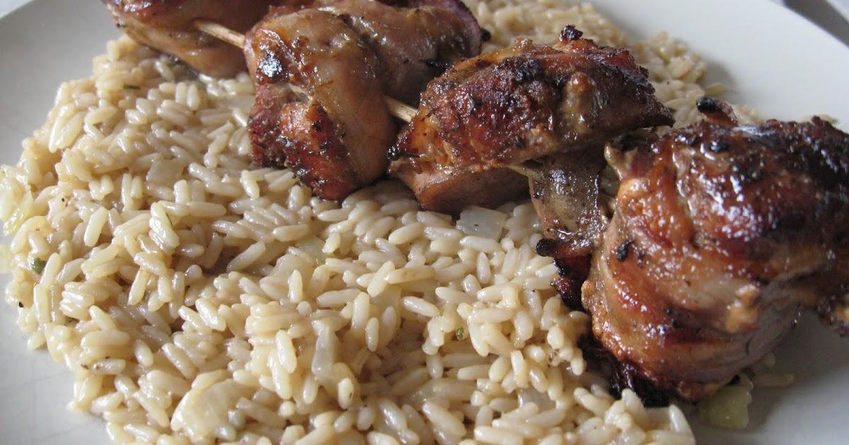 Recettes de flipp brochettes de filet de porc bbq et bacon - Filet mignon de porc grille au barbecue ...