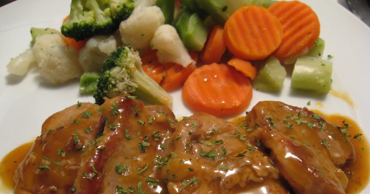Recettes de flipp m daillons de porc dans une sauce la - Recette de jamie oliver sur cuisine tv ...
