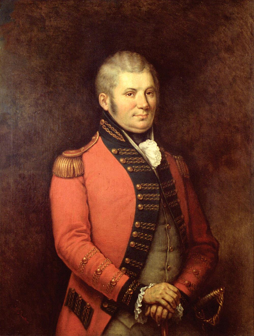 Simcoe (ON) Canada  City pictures : portrait of Simcoe painted circa 1881 by George Theodore Berthon.