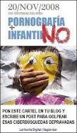 En contra de la pornografía infantil