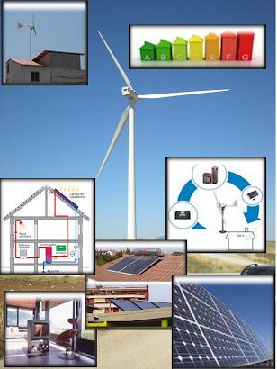 TRABAJAMOS CON TODO TIPO DE ENERGÍAS RENOVABLES Y EFICIENTES