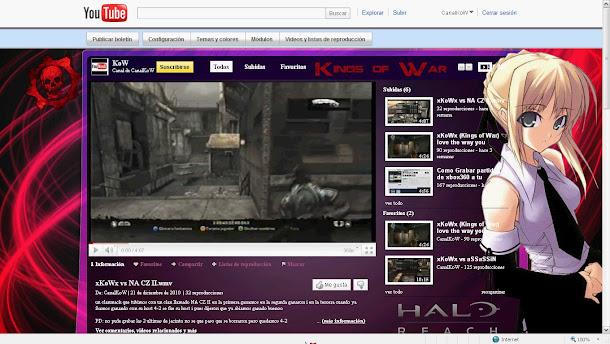 Canal en You Tube del Clan Kings of War