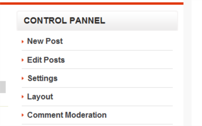 How to Add Admin Control Panel to Blogger