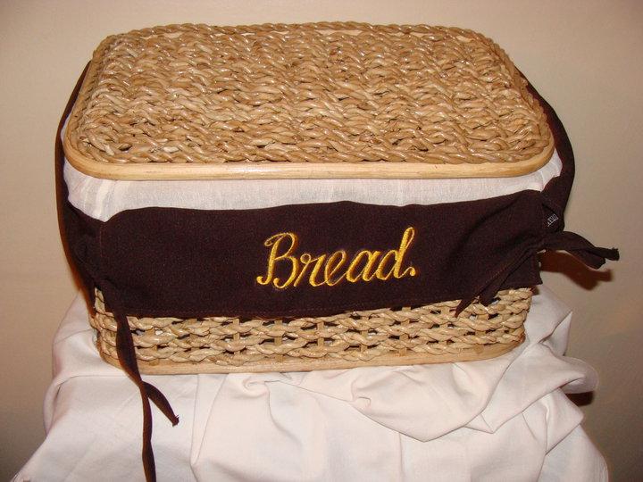 Berdos Hasır Büyük Kapaklı Ekmek Sepeti