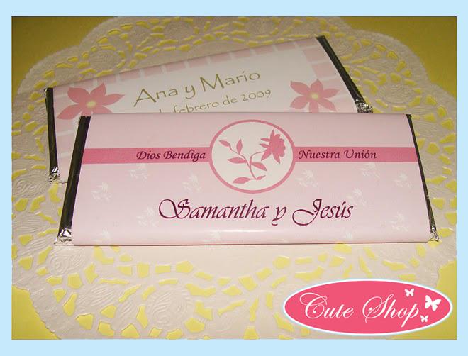 Chocolates Personalizados para toda ocasión!