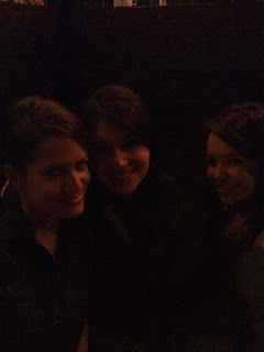Delightfully dark picture of Anna, me and Natali