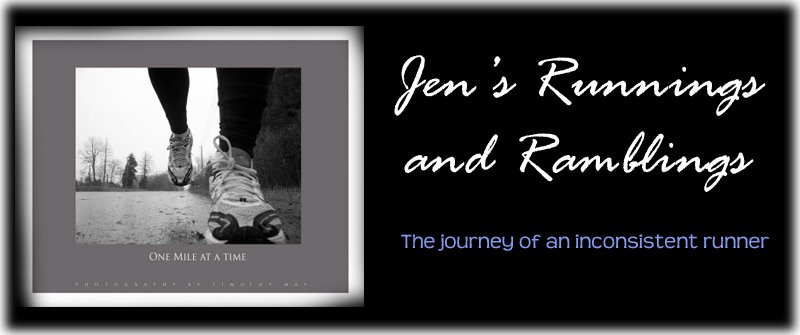 Jen&#39;s Runnings and Ramblings