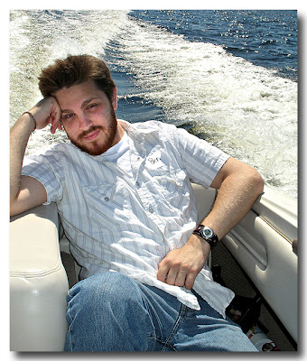Ben on Lake Muscoca