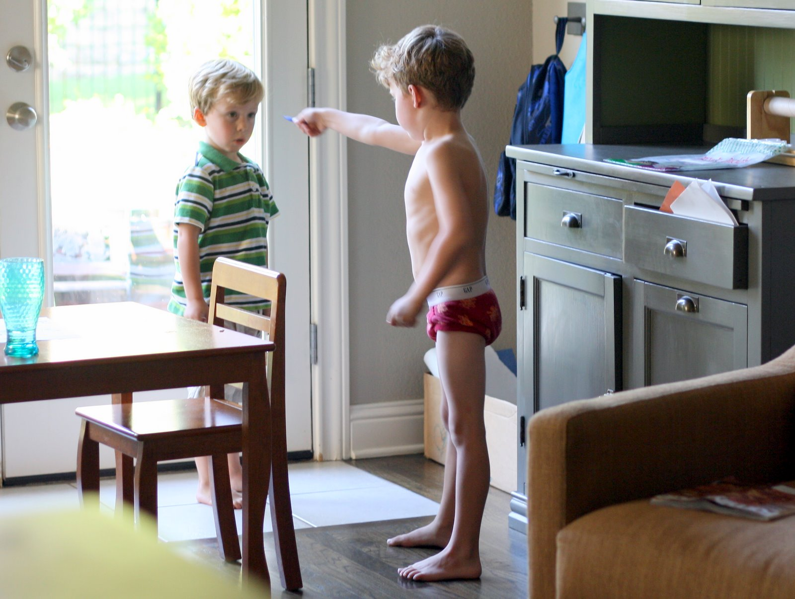 little boy in his undies is there anything funnier than a little boy