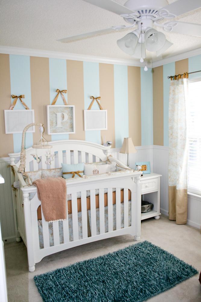 Baby Boy Room Stripes