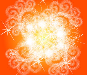 Red Orange Galaxy Vector Background | Download Free Vector Graphic and