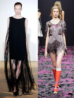 Elbisede püskül trendi