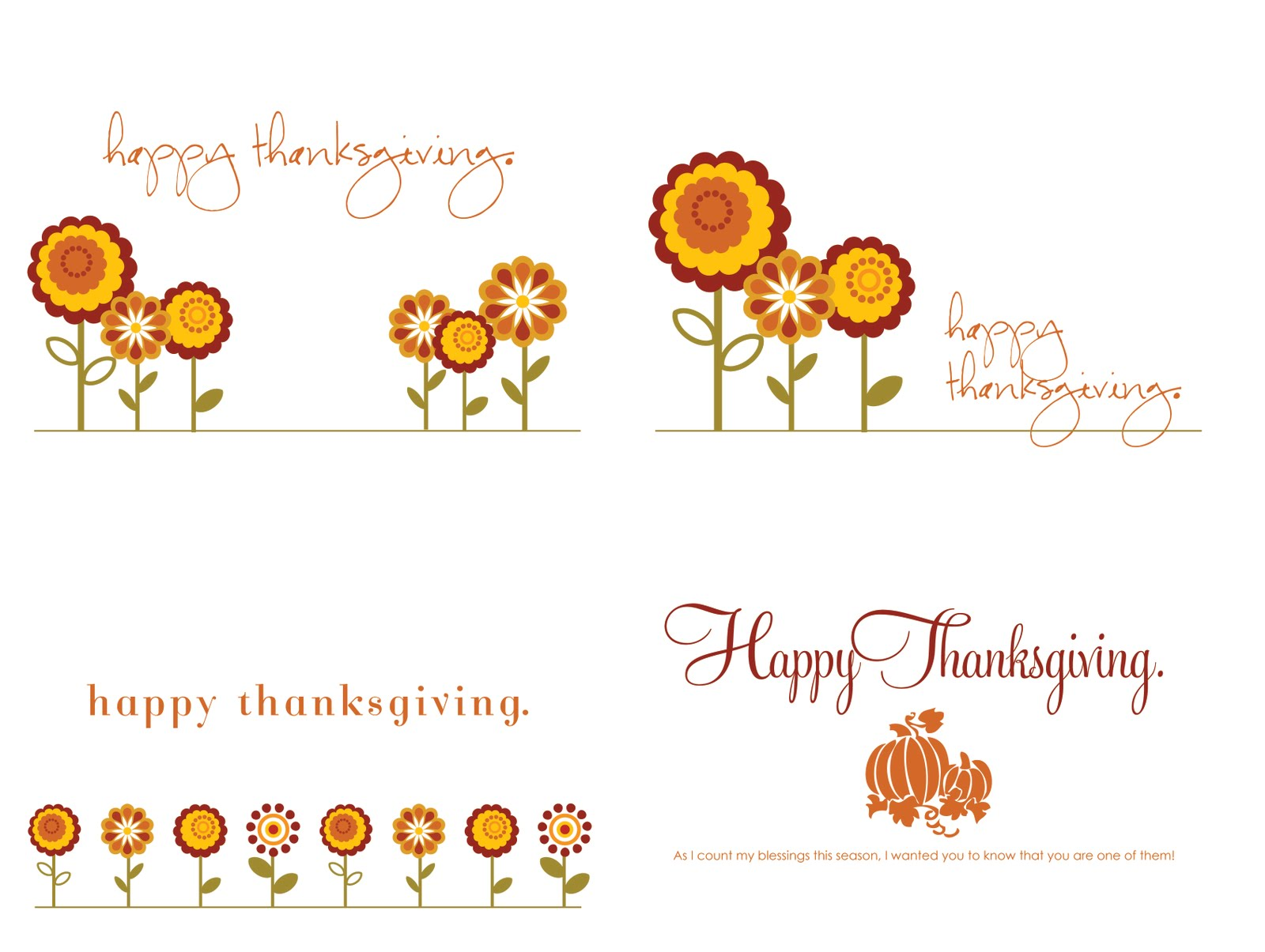 Thankgiving cards pasoevolist thankgiving cards kristyandbryce Choice Image
