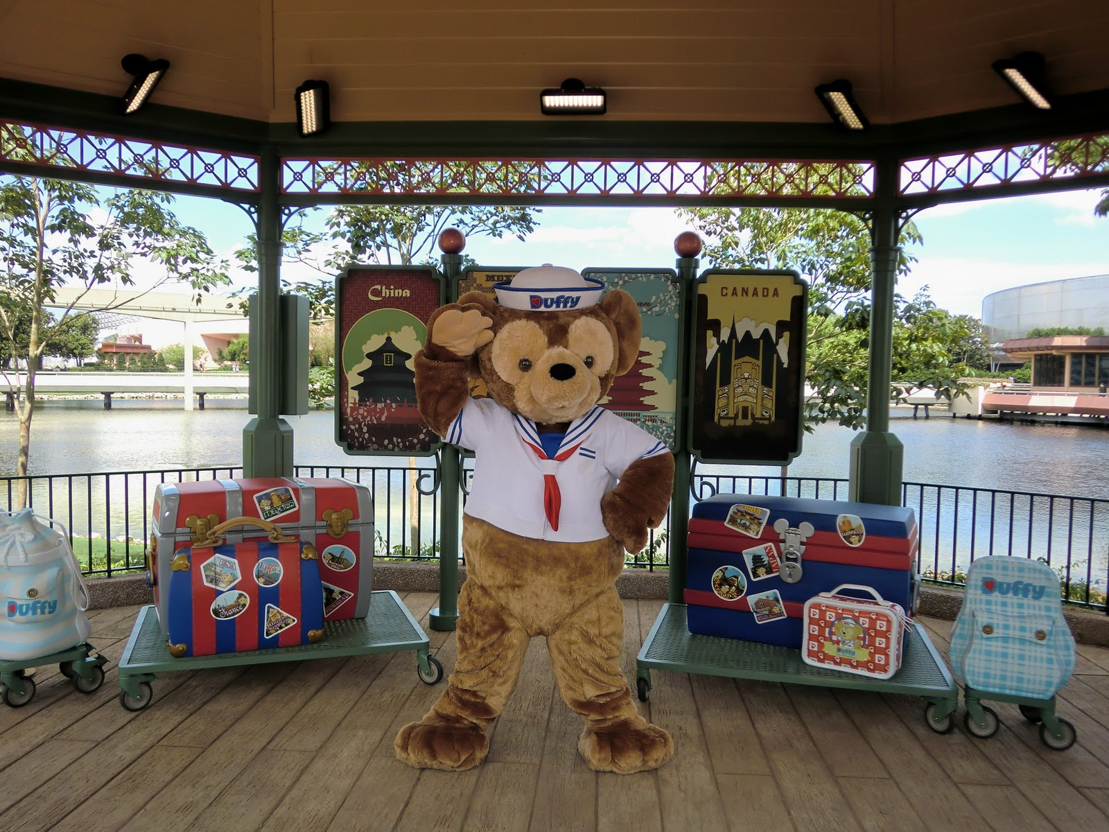 Unofficial Disney Character Hunting Guide Duffy The Bear Debuts At