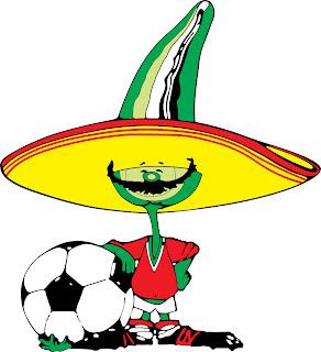 Logos y Mascotas de los Mundiales de Fútbol de la Historia