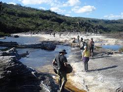 Campo da disciplina Ecologia de Campo no Parque Estadual do Rio Preto - MG