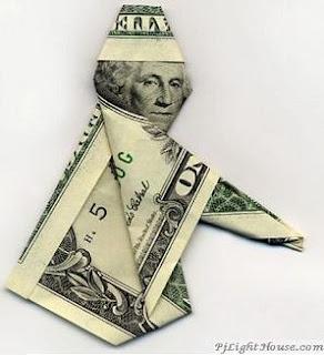 L'ARGENT DETTE > Faisons banquer les banksters ! Bankster+origami