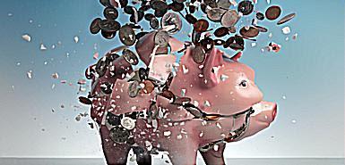 L'ARGENT DETTE > Faisons banquer les banksters ! Exploding+banks