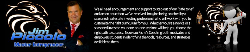 Nouveau Riche Mentoring Real Estate Investors