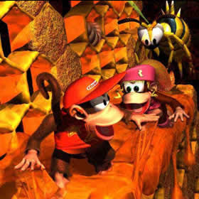 Donkey Kong Country Diddy and Dixie