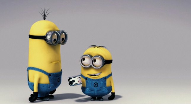 minions despicable me funny. It#39;s because of the minions!