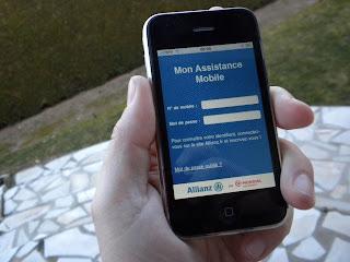 voiture communicante allianz lance l 39 assistance sur t l phone mobile. Black Bedroom Furniture Sets. Home Design Ideas