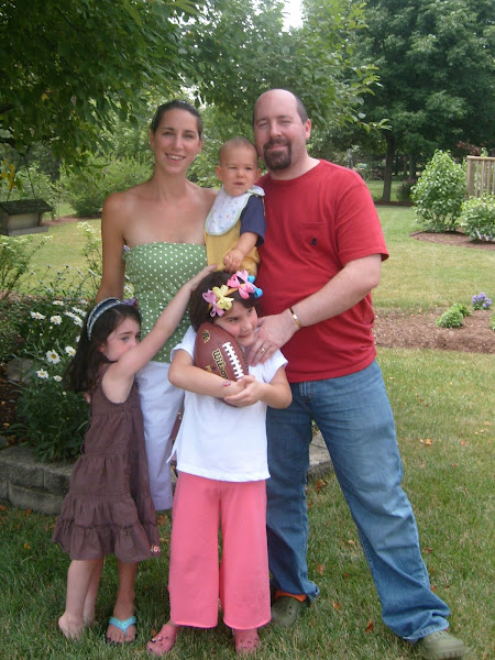 My son Mark & family