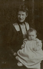 Mary Caroline Symonds (nee Tindall), wife of F25 Revd Septimus Symonds, with son Edward G50