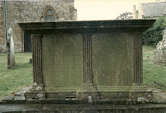 Last resting place of Edward Symonds, A1 on chart
