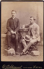 Picture of Henry with his brother Edward, taken in Pietermaritzburg, Natal 1891