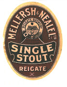 Single stout, c1935 with a gravity of 1065.