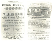 Advertisment for George Moore, Leatherhead