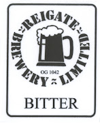Pumpclip for John Harvey's draught Bitter