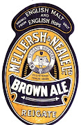 Brown Ale, 1937, further redesign