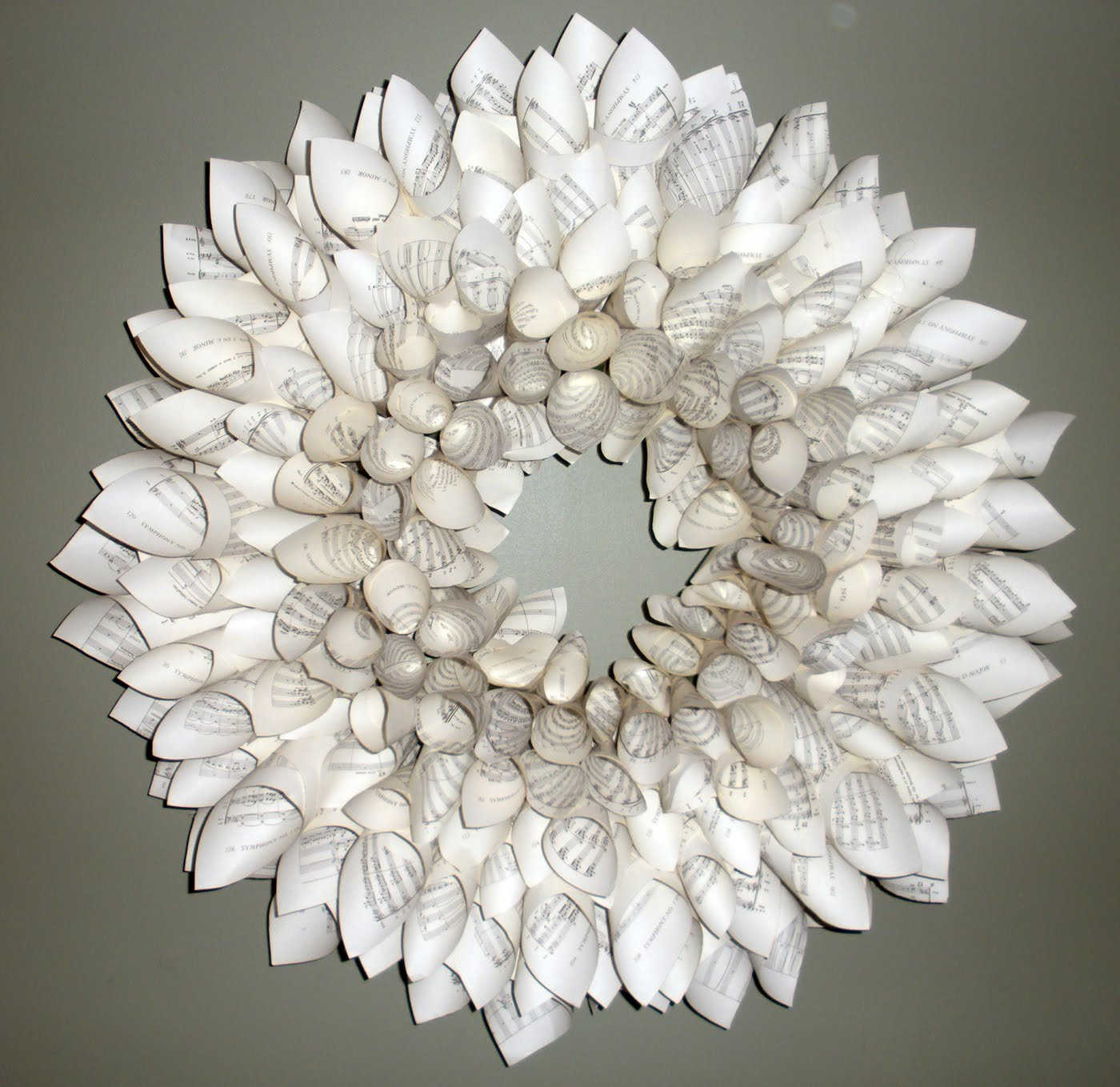 Sew Spoiled Gift Idea 2 Paper Wreaths
