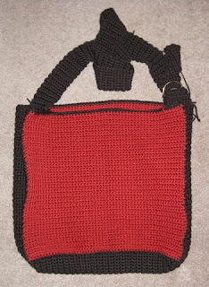 pre-felted tote