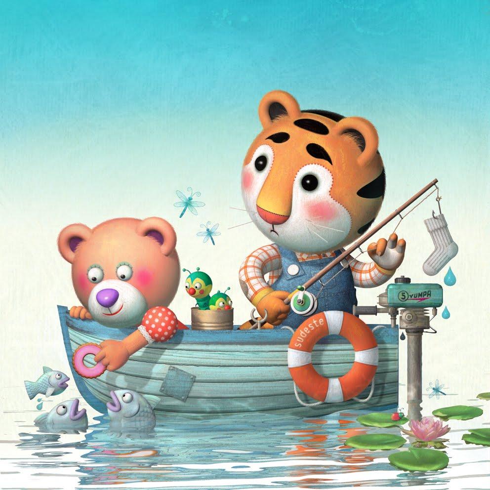 La pecera d a de pesca for Jardin de genios revista 2016