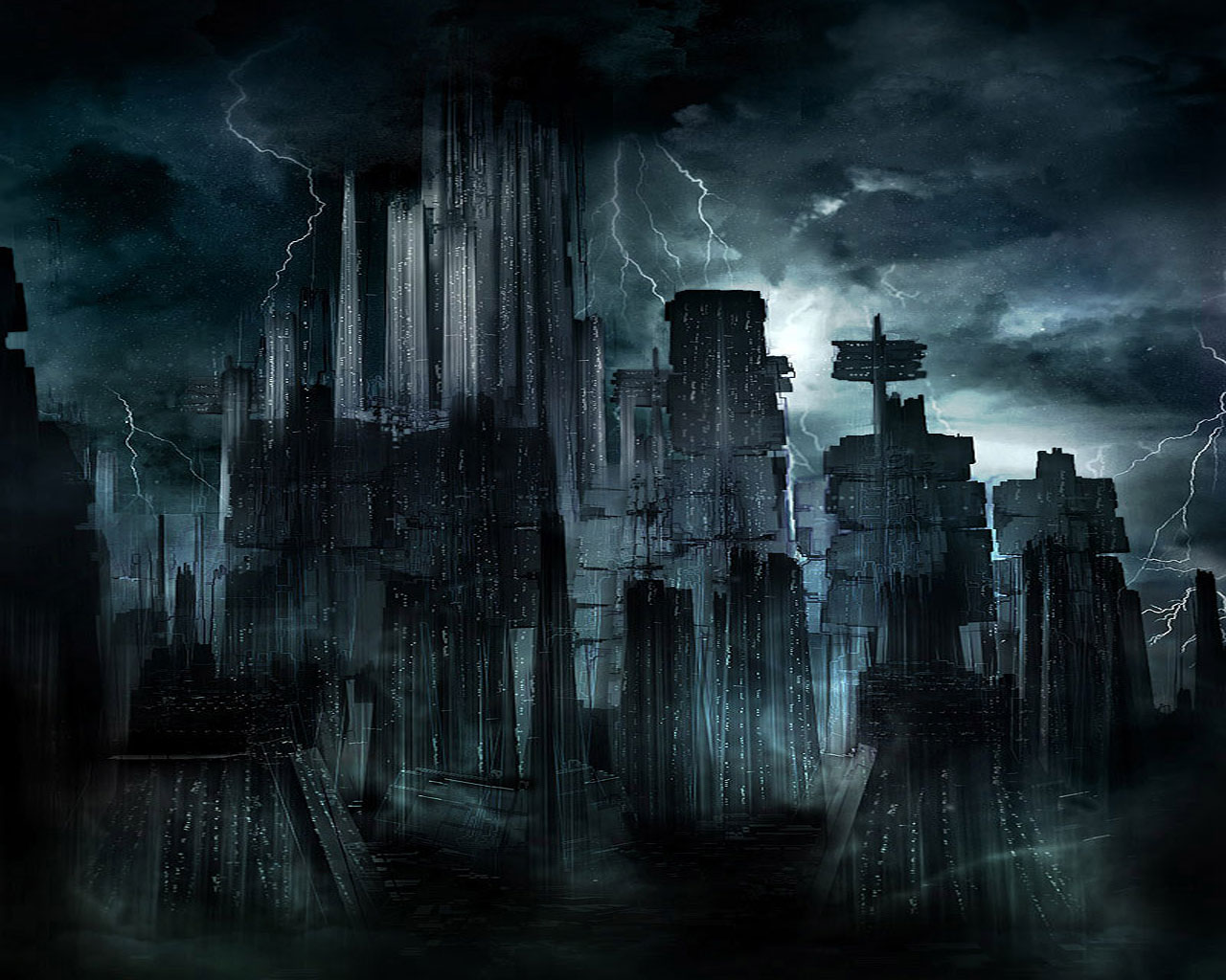 Downlad free Dark The Dark City wallpaper