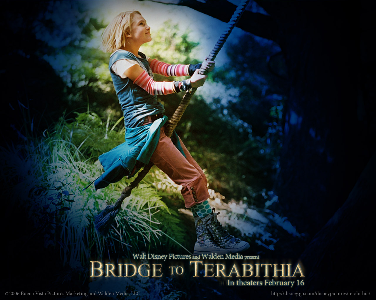 Wallpaper bridge to terabithia 135288 1280 1024
