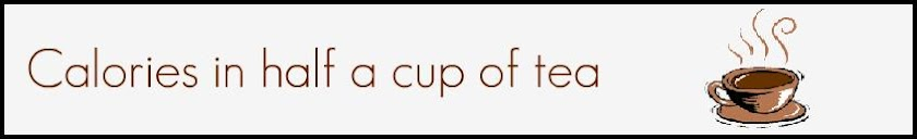Calories in half a cup of tea